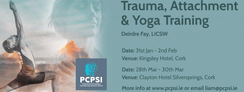 Trauma, Attachment & Yoga Training with Deirdre Fay, LICSW
